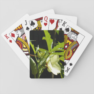 GROWING OKRA PLAYING CARDS