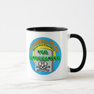 Growing Older 55th Birthday Gifts Mug
