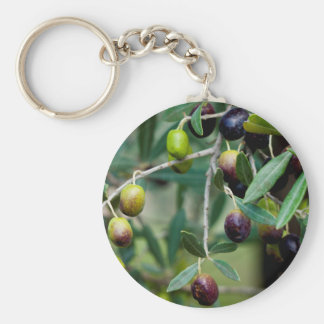 Growing Olives Key Ring