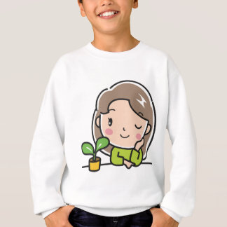 Growing Plants Sweatshirt