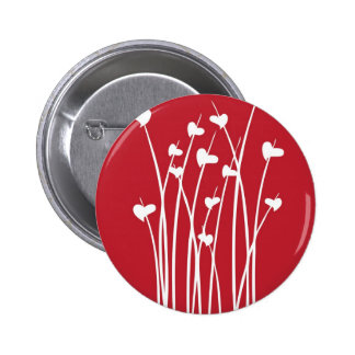 Growing Red Valentines Button