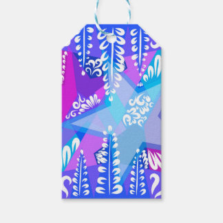 Growing Stars Pattern Gift Tags