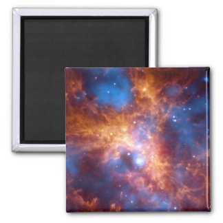 GROWING TARANTULA (outer space) ~ Square Magnet