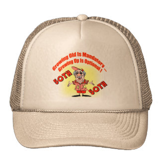 Growing Up 50th Birthday Gifts Cap