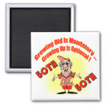 Growing Up 50th Birthday Gifts Refrigerator Magnet