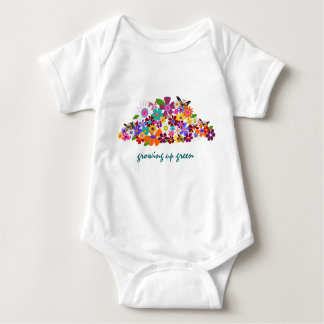 Growing Up Green - Onesy Baby Bodysuit
