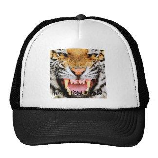 Growl Snarl, Hear Me Growl!!!! Meow! Trucker Hat