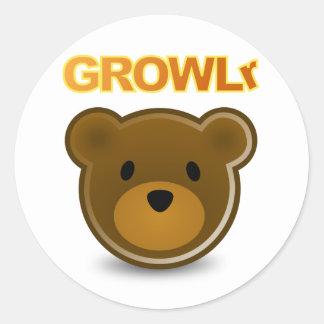 GROWLr Sticker