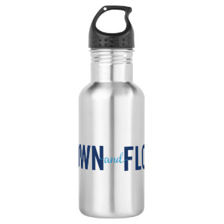 Grown and Flown Logo 2 Stainless Water 532 Ml Water Bottle