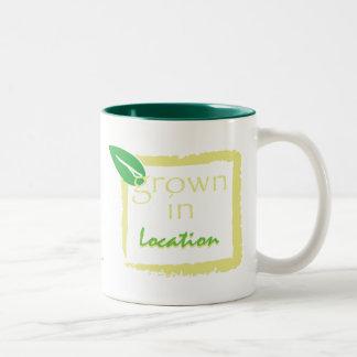 Grown In... Two-Tone Coffee Mug