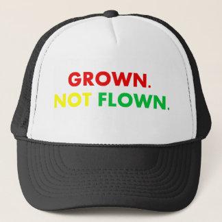 GROWN. NOT FLOWN. TRUCKER HAT