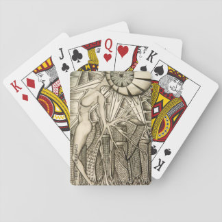 """""""Growth and Light' playing cards"""