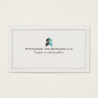 Growth Arrow Professional Logo Business Card