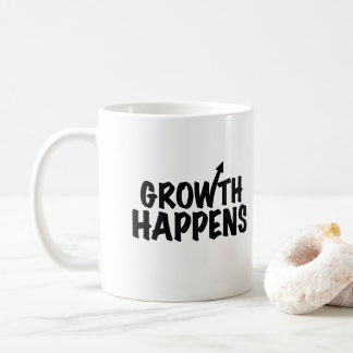 Growth Happens Coffee Mug