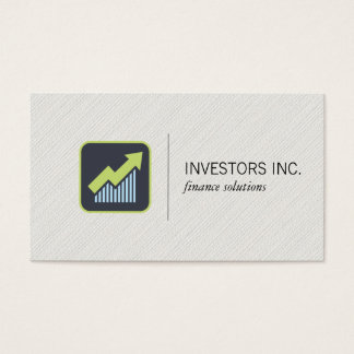 Growth Icon | Investments Business Card