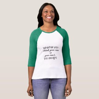 Growth Mindset-You can do it T-Shirt