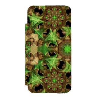 Growth Octagon Mandala Incipio Watson™ iPhone 5 Wallet Case