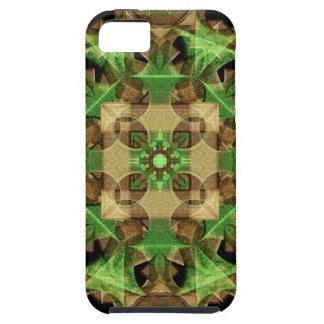 Growth Octagon Mandala iPhone 5 Case