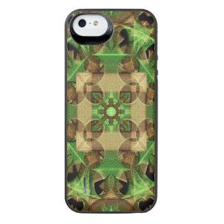 Growth Octagon Mandala iPhone SE/5/5s Battery Case
