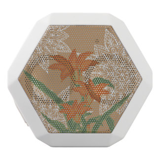 GROWTH - Orange Lily White Bluetooth Speaker