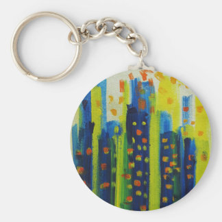 growth patterns key ring