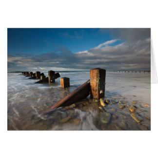 Groynes Barmouth Beach Card