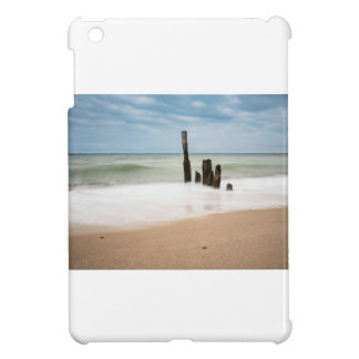 Groynes on shore of the Baltic Sea Cover For The iPad Mini