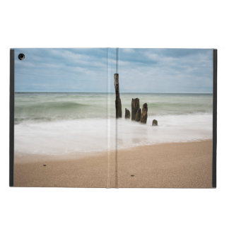 Groynes on shore of the Baltic Sea iPad Air Case