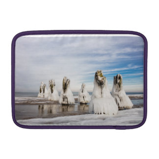 Groynes on the Baltic Sea coast Sleeve For MacBook Air