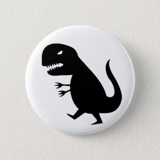Grr Dinosaur 6 Cm Round Badge