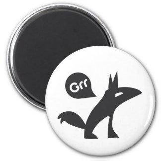 Grr Esprit Noir Refrigerator Magnet