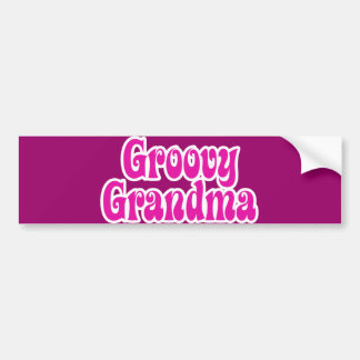 Grrovy Grandma Bumper Sticker