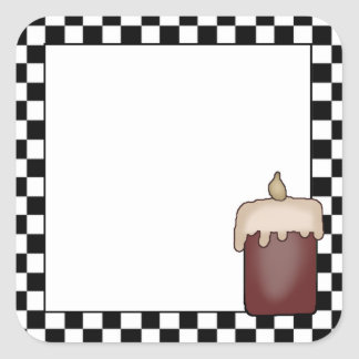 Grubby Candle Country Themed Sticker