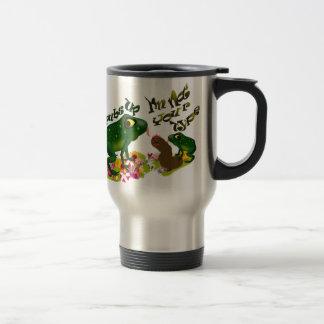Grubs up 15 oz stainless steel travel mug