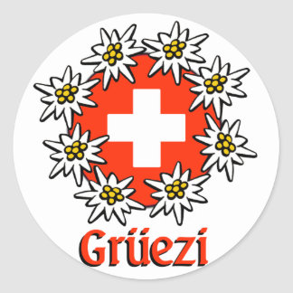 Gruezi Sticker