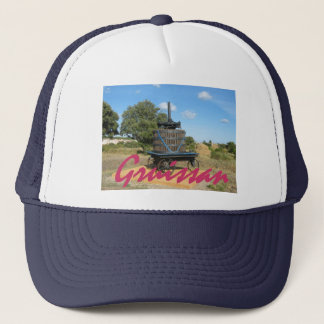 Gruissan grape harvest trucker hat
