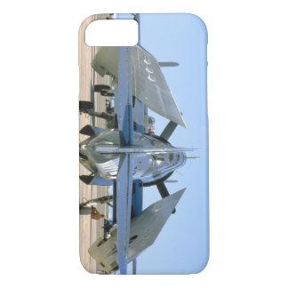 Grumman TBM Avenger, Wings Folded_WWII Planes iPhone 7 Case