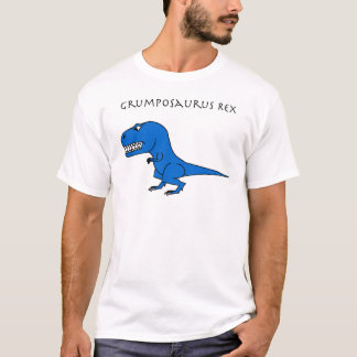 Grumposaurus Rex Blue T-Shirt