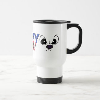 """Grumpy and Proud"" Funny Cartoon Mug"