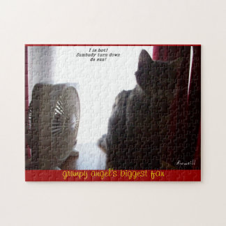 Grumpy Angel's biggest fan Jigsaw Puzzles