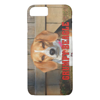 Grumpy Beagle iPhone 7 Case