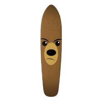 Grumpy Bear Face 20.6 Cm Skateboard Deck