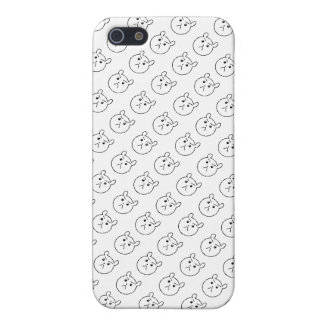 Grumpy Bear Pattern iPhone 5 Case