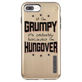GRUMPY because HUNGOVER (blk) Incipio DualPro Shine iPhone 7 Plus Case