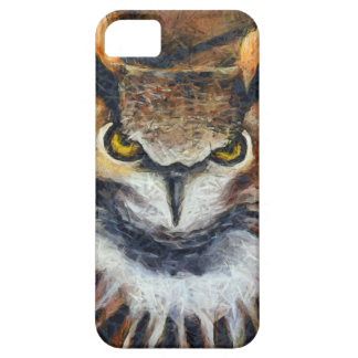 Grumpy Big Ear Owl Barely There iPhone 5 Case