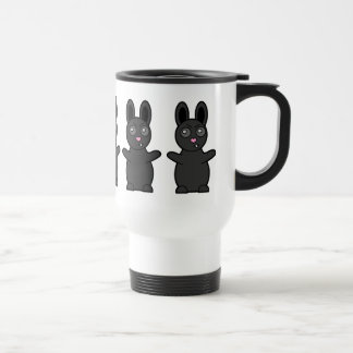 Grumpy Bunny Has Beef with YOU Stainless Steel Travel Mug