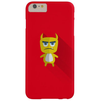 Grumpy but adorable yellow monster iPhone 7 case