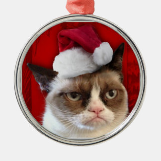 Grumpy Cat Christmas Ornament