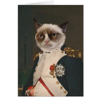 Grumpy Cat Classic Painting Card