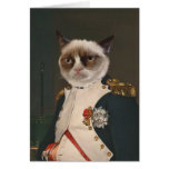 Grumpy Cat Classic Painting Greeting Cards